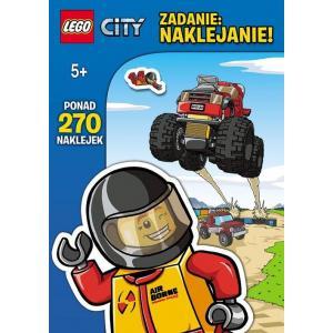 Zadanie - naklejanie. Lego City LAS12