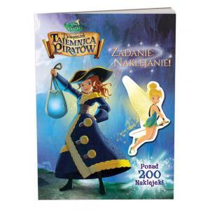 Disney Wróżki. Dzwoneczek i tajemnica piratów. Zadanie: naklejanie!