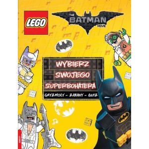 Lego. The Batman Movie. Wybierz swojego superbohatera. Gryzmoły - zabawy - quiz
