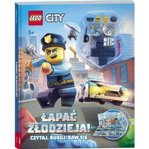 Lego City Łapać Złodzieja! Czytaj, Buduj, Baw się