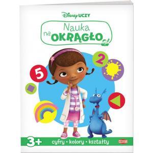 Disney Uczy Nauka na Okrągło 3+ Cyfry, Kolory, Kształty Klinika dla Pluszaków