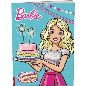 Barbie. Kolorowanka z naklejkami