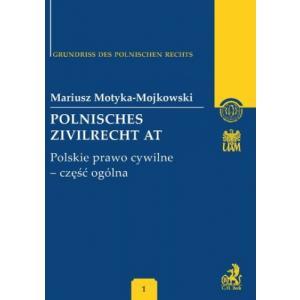 Beck Polnisches Zivilrecht AT, Polskie Prawo Cywilne- cz. ogólna (Zarys Prawa Polskiego)