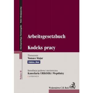 Kodeks Pracy - Arbeitsgesetzbuch wyd. 4