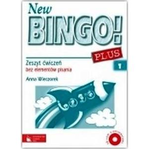 New Bingo! PLUS 1. Język Angielski. Ćwiczenia A1 i A2 Bez Elementów Pisania