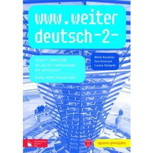 www.weiter deutsch 2. Język Niemiecki. Ćwiczenia + CD-ROM. Gimnazjum