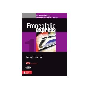 Francofolie express 1 Zeszyt ćwiczeń +2CD OOP
