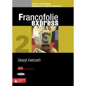 Francofolie Express 2. Ćwiczenia + CD