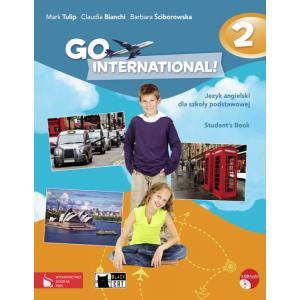 Go International! 2 Język Angielski. Podręcznik + CD. Klasa  5. Szkoła Podstawowa