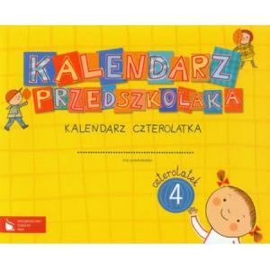 Kalendarz przedszkolaka Kalendarz czterolatka