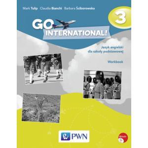 Go International! 3 Język Angielski. Ćwiczenia. Klasa  6. Szkoła Podstawowa