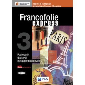 Francofolie express 3 Podręcznik +CD