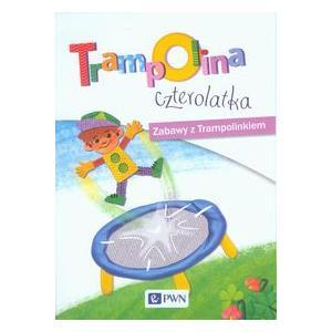 Trampolina czterolatka Zabawy z Trampolinkiem