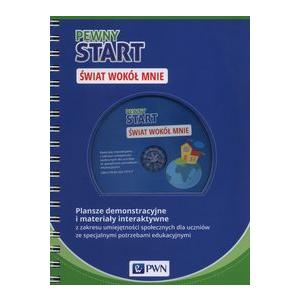 Pewny Start Świat wokół mnie Plansze demonstracyjne i materiały interaktywne na DVD-ROM