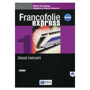 Francofolie express 1 Ćwiczenia +CD - 2015