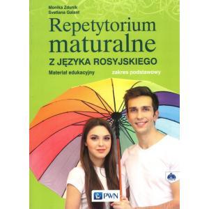 Repetytorium maturalne z języka rosyjskiego. Zakres podstawowy + CD. Wyd.2