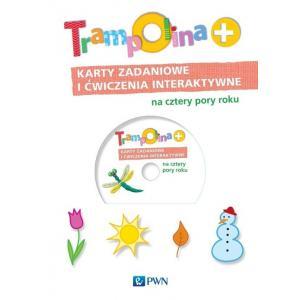 Trampolina+ Karty zadaniowe i ćwiczenia interaktywne na cztery pory roku