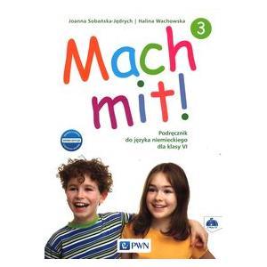 Mach Mit! 3. Język Niemiecki. Podręcznik Wieloletni + CD. Klasa 6. Szkoła Podstawowa
