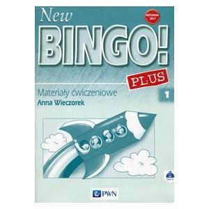 New Bingo! PLUS 1. Język Angielski. Materiał Ćwiczeniowy + CD. Klasa 1