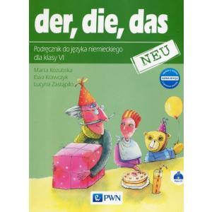 Der, Die, Das Neu. Język Niemiecki. Podręcznik Wieloletni + CD. Klasa 6. Szkoła Podstawowa