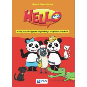 Hello Kids. Karty Pracy do Języka Angielskiego dla Przedszkolaków