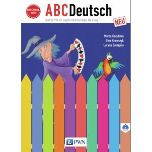 ABCDeutsch Neu. Język Niemiecki. Podręcznik Wieloletni + CD. Klasa 1. Szkoła Podstawowa