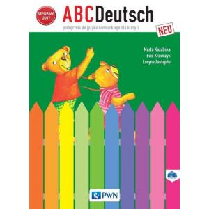ABCDeutsch Neu. Język Niemiecki. Podręcznik Wieloletni + CD. Klasa 2. Szkoła Podstawowa