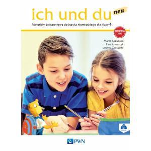 Ich Und Du Neu. Język Niemiecki. Materiały Ćwiczeniowe (Do Wersji Wieloletniej). Klasa 4. Szkoła Podstawowa