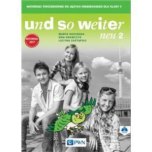 Und So Weiter Neu 2. Język Niemiecki. Ćwiczenia. Klasa 5. Szkoła Podstawowa