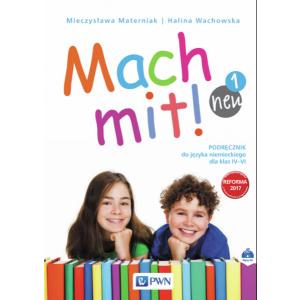 Mach Mit! 1 Neu. Język Niemiecki. Podręcznik Wieloletni + CD. Klasa 4. Szkoła Podstawowa