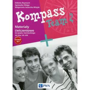 Kompass Team 2. Język Niemiecki. Materiał Ćwiczeniowy. Klasa 7-8