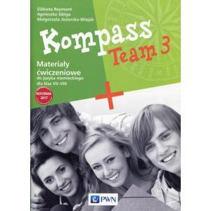 Kompass Team 3. Język Niemiecki. Materiały Ćwiczeniowe. Klasa 7-8
