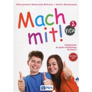 Mach Mit! 2 Neu. Język Niemiecki. Podręcznik Wieloletni + CD. Klasa 5. Szkoła Podstawowa