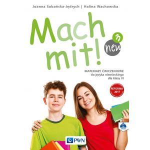 Mach mit! neu 3. Język niemiecki. Szkoła podstawowa klasa 6. Materiały ćwiczeniowe
