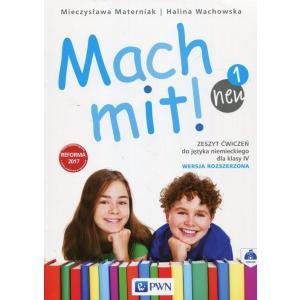 Mach Mit! 1 Neu. Język Niemiecki. Ćwiczenia. Wersja Rozszerzona. Klasa 4. Szkoła Podstawowa