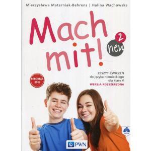 Mach Mit! 2 Neu. Język Niemiecki. Ćwiczenia. Wersja Rozszerzona. Klasa 5. Szkoła Podstawowa