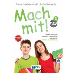 Mach Mit! 3 Neu. Język Niemiecki. Ćwiczenia. Wersja Rozszerzona. Klasa 6. Szkoła Podstawowa