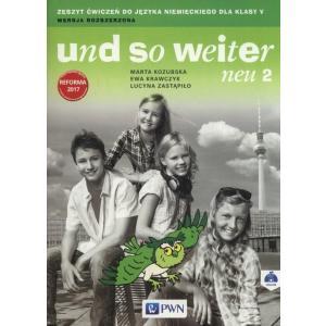 Und So Weiter Neu 2. Język Niemiecki. Ćwiczenia. Klasa 5. Szkoła Podstawowa. Wersja Rozszerzona