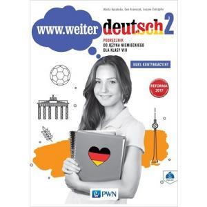 www.weiter deutsch 2. Język Niemiecki. Podręcznik + CD. Klasa 8. Kurs Kontynuacyjny