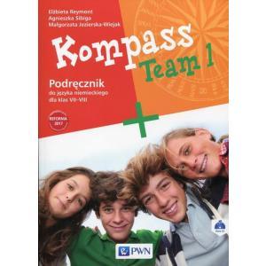 Kompass Team 1. Język Niemiecki. Podręcznik Wieloletni. Klasa 7-8