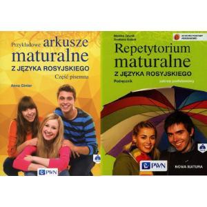 Pakiet Maturalny. Język Rosyjski. Repetytorium Maturalne / Przykładowe Arkusze Maturalne