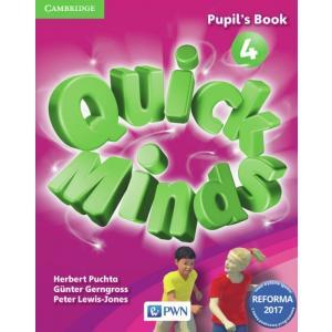 Quick Minds 4. Podręcznik