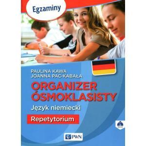 Organizer Ósmoklasisty. Język Niemiecki. Repetytorium + CD