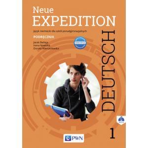 Neue Expedition Deutsch 1. Podręcznik. Liceum i Technikum