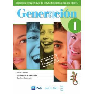 Generacion 1. Język hiszpański. Szkoła podstawowa klasa 7. Materiały ćwiczeniowe