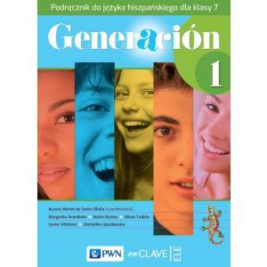 Generacion 1. Język hiszpański. Szkoła podstawowa klasa 7. Podręcznik