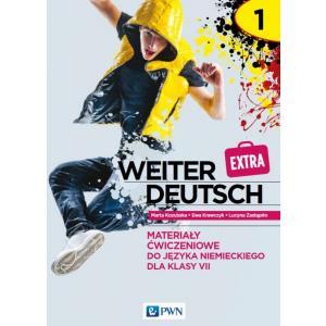 Weiter deutsch extra 1. Język niemiecki. Szkoła podstawowa klasa 7. Materiały ćwiczeniowe