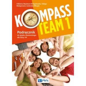 Kompass Team 1. Język niemiecki. Szkoła podstawowa klasa 7-8. Podręcznik