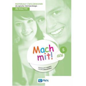 Mach mit! neu 5. Język niemiecki. Szkoła podstawowa klasa 8. Materiały ćwiczeniowe