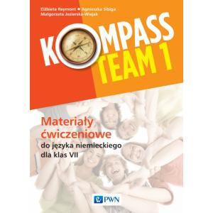 Kompass Team 1. Język niemiecki. Szkoła podstawowa klasa 7-8. Materiały ćwiczeniowe